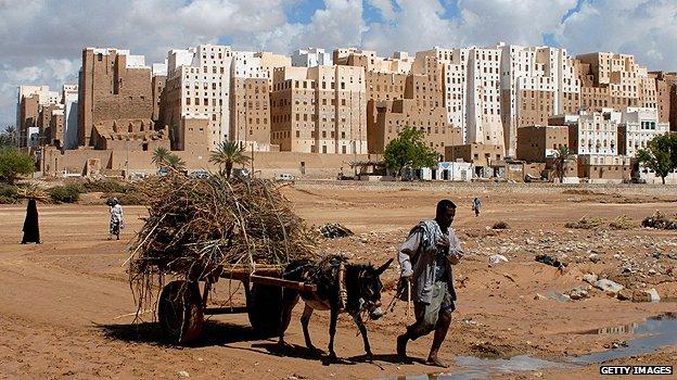 Ciudad yemení de Shibam