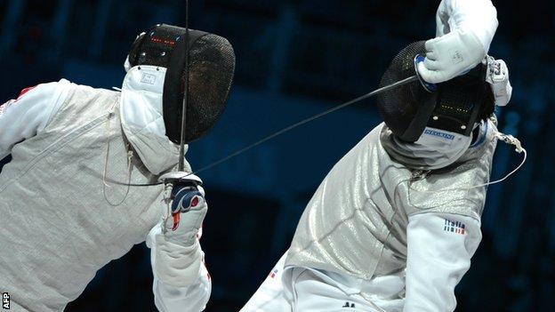 Foil Fencing