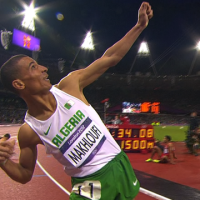 Controversial Algerian Wins Men's 1500m