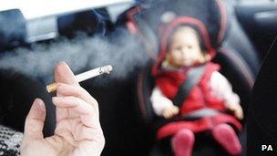 driver smoking