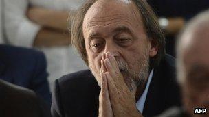 Bernardo De Bernardinis, former deputy chief of Italy's civil protection department