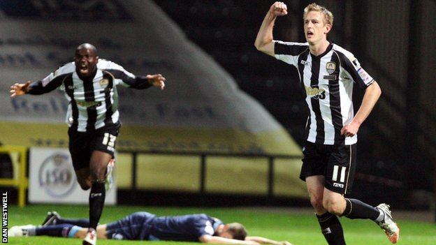 Notts County goal