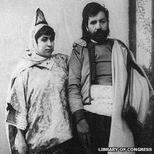Jewish couple 1900