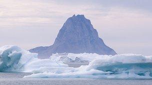 arctic volcano