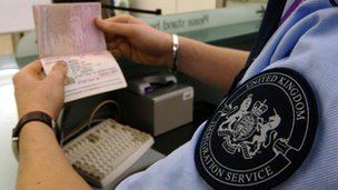 UK immigration control
