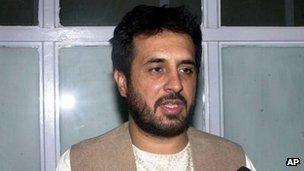 Asadullah Khalid (file photo, May 2007)