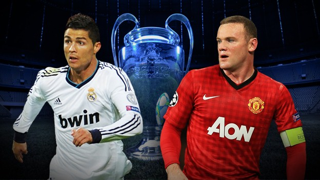 Real Madrid vs Manchester United Champions League