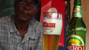 "Beer called ""Hero"""