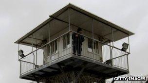Ayalon prison watchtower