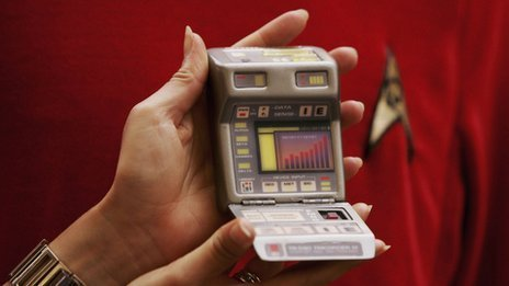 A Star Trek tricorder