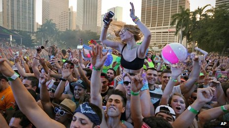 Festival de música en Miami