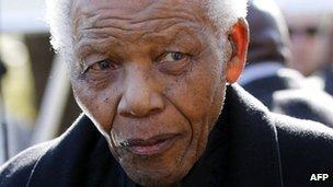 Nelson Mandela in