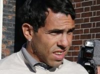 Carlos Tevez at Macclesfield Magistrates' Court