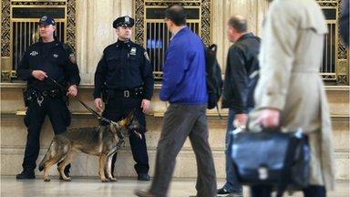 Police in Boston (16 April 2013)