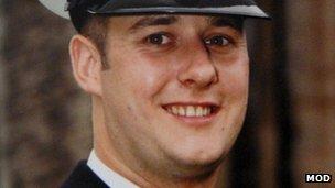 Lt Cdr Ian Molyneux
