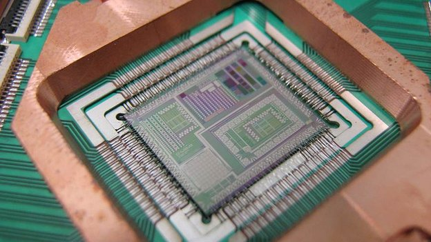 D-Wave chip