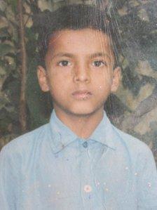 Kanhaiya's mother Vijai Kumari only had a photo of her son in jail