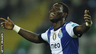 Porto winger Christian Atsu