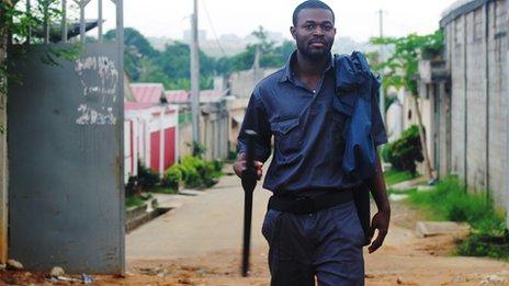 Kouadio Koffi in Abidjan