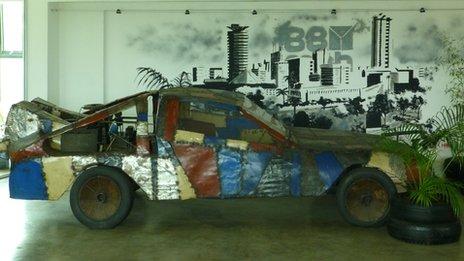 88mph's homemade DeLorean