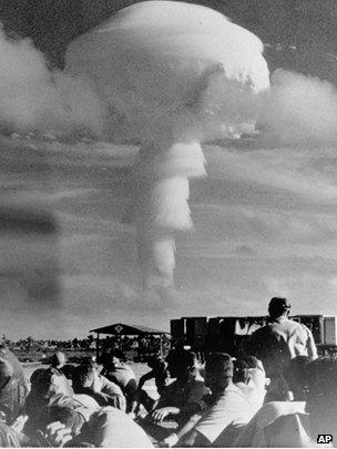 Christmas Island tests 1962