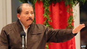 Daniel Ortega, file photo  14 June 2013