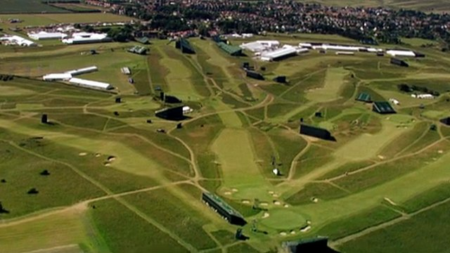 Muirfield from the air