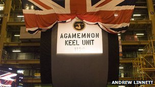 Agamemnon keel