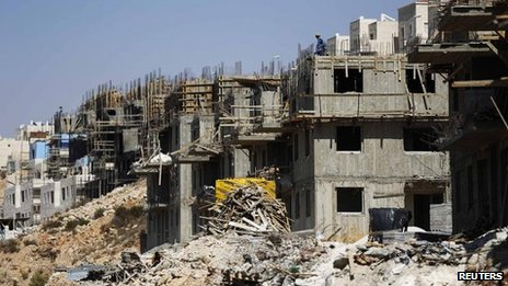 Construction in Beitar Ilit, near Bethlehem, 11 August