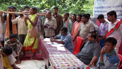 A tribal consultation on Vedanta project