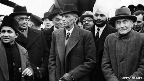 Mohammed Ali Jinnah in London, 1946
