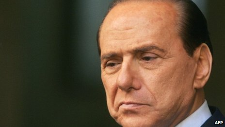 Ex-PM Silvio Berlusconi