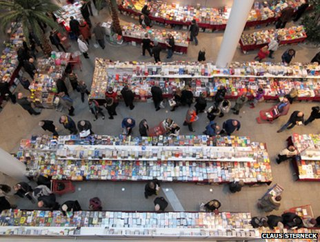Book fair in Iceland: Photo courtesy Claus Sterneck