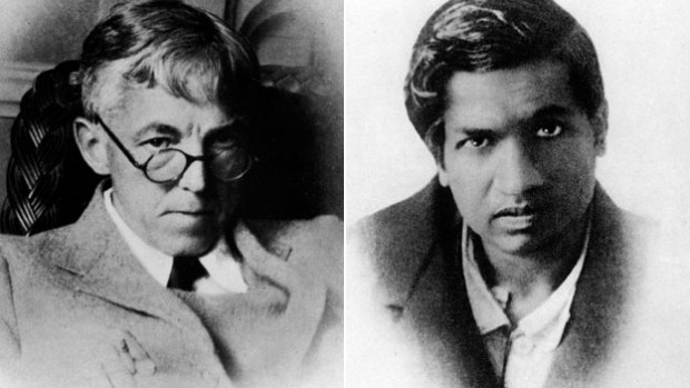 GH Hardy and Srinivas Ramanujan