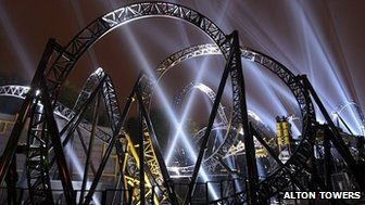 The Smiler coaster