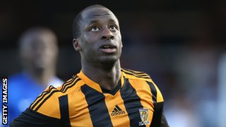 Hull City striker Sone Aluko scored 12 goals in 21 games for Rangers in the Scottish Premier League