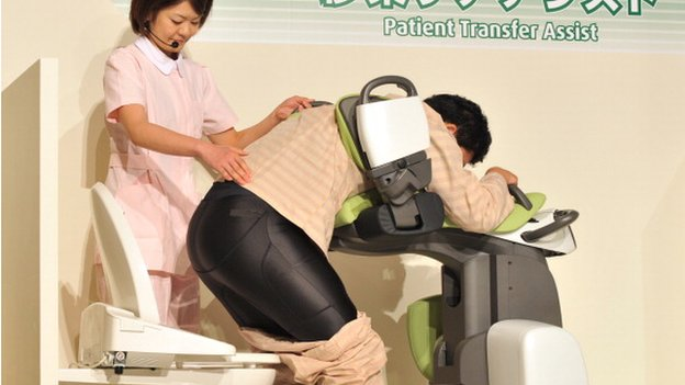 Toyota mobility robot