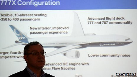 A Boeing executive talks about its 777X aircraft
