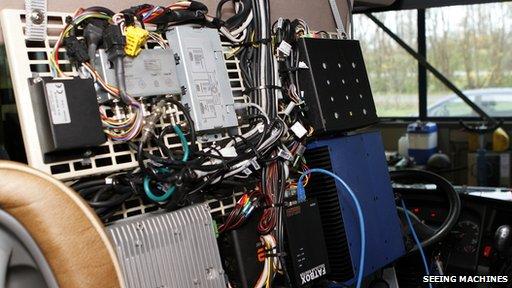Seeing Machines equipment