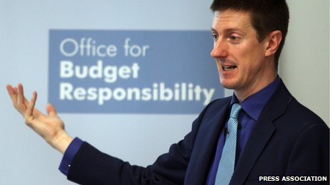 Chairman of the Office of Budget Responsibility Robert Chote