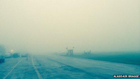Niebla en Stapleford