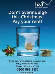 H&F rent warning