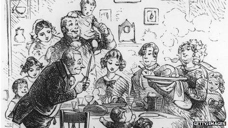 A Victorian card
