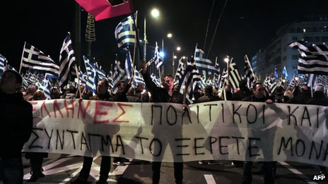 ultra nationalist party Golden Dawn
