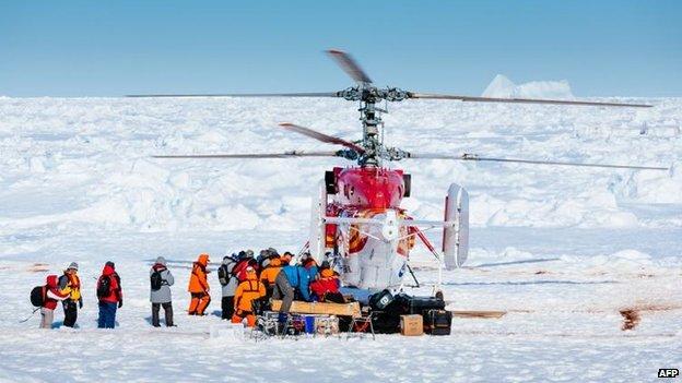 Akademik Shokalskiy rescue, 2 Jan