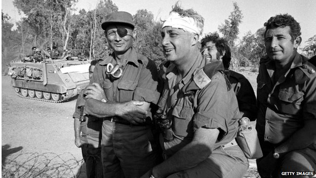 Ariel Sharon in Sinai (October 1967)
