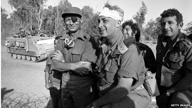 Ariel Sharon in Sinai (October 1967)