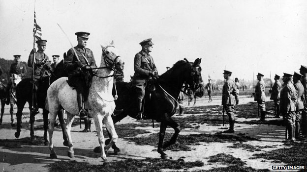 Generals on horseback