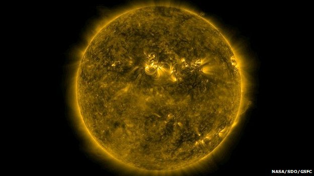 Image of Sun from Solar Dynamics Observatory