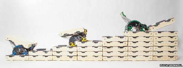 Bio-inspired climbing robots